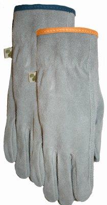 midwest quality gloves 2910d4-m Medium, Ladies, Genuine Suede Cowhide Gloves