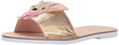 Kate Spade New York Women's Isadore Slide Sandal, Gold, 7.5 Medium US