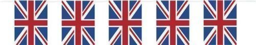 Best of British Union Jack Plastic Flag Bunting 10m