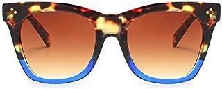 TYJMENG Gafas De Sol Nuevas Gafas De Sol De Mujer Diseñador De La Marca Retro Vintage Sunglass Moda Mujer Gafas De Sol De Marco Grande Uv400