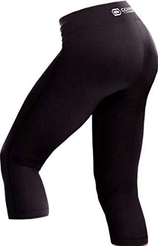Copper Compression Womens Capri Leggings - High Waist 3/4 Pants, Tights, Capris