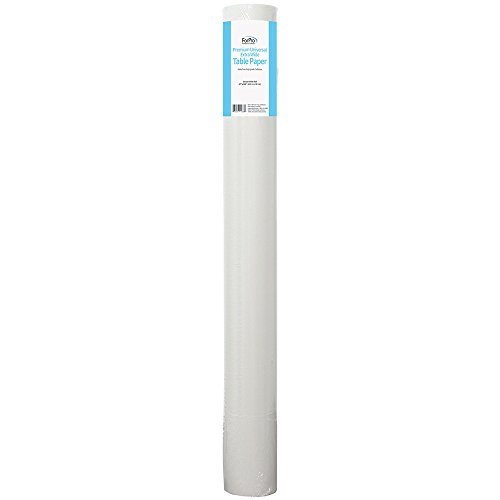 ForPro Premium Universal Extra Wide Table Paper, Smooth, Wrinkle-Resistant, 27″ W x 225′ L