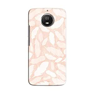 Cover It Up - Feather Pink Print Moto G5s Hard Case