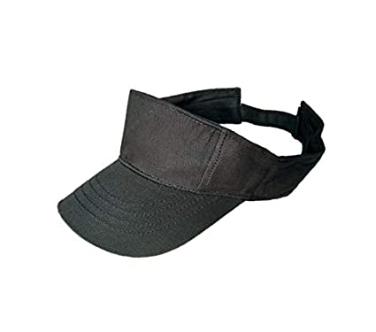 Buy starstep Cotton Plain Sun Visor Tennis Golf Cap for Boys Girls Without  Logo (Black) Online at Low Prices in India - Amazon.in f25e1c67746