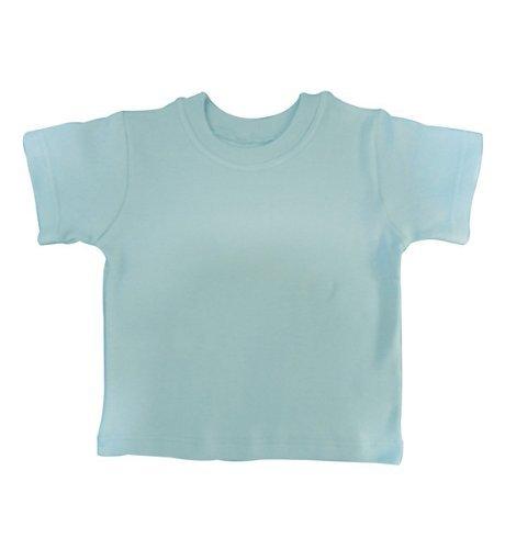 babywearuk Baby Camiseta de British Made azul celeste Talla:3-6 Meses