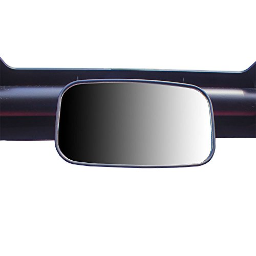 (Universal Black Offroad Rear View Mirror for Side x Side, UTV, Utility Vehicle w/ 1.75