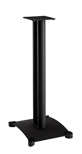 Speaker Foundation - Sanus SF30-B1 Steel Foundations 30-inch Speaker Stands (PAIR)
