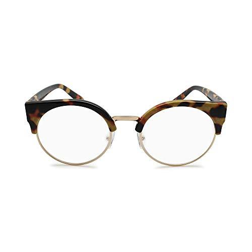 - Oversize Half Rim Cat Eye Reading Glasses for Women (+1.00 +1.25 +1.50 +1.75 +2.00 +2.25 +2.50 +2.75 +3.00)