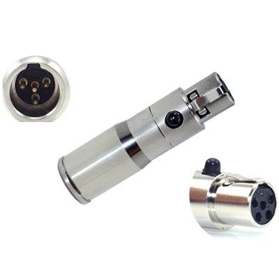 Convertir Shure Micro Auricular Micrófono de solapa Lectrosonics ...