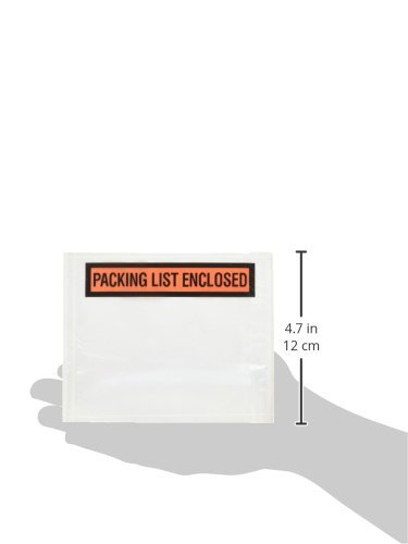 BOXPQ12 - 4-1/2'' x 5-1/2'' Packing List Enclosed Envelopes (1000/case) by Box Partners (Image #2)