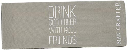 Pavilion Gift Company 68126 Snap beer coozies, Beige