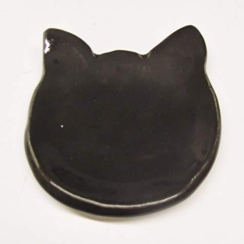 Cat Dish Handmade Pottery Ceramic Spoon Rest Stoneware Ceramic Plate