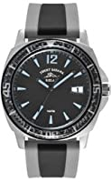 Tommy Bahama RELAX Men's RLX1228 Tallahassee Analog Display Japanese Quartz Black Watch by Tommy Bahama RELAX