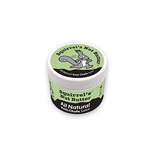 (Squirrel's Nut Butter All Natural Anti Chafe Salve, Tub (2 oz))