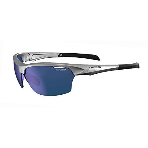 Tifosi Intense Golf Sunglasses Silver/Blue