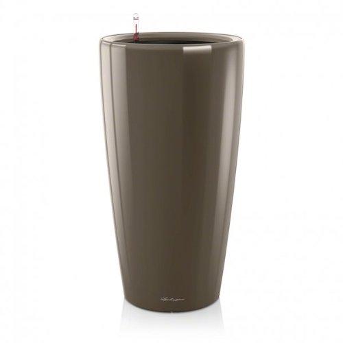 Lechuza RONDO Premium 40 Komplettset - TAUPE hochglanz