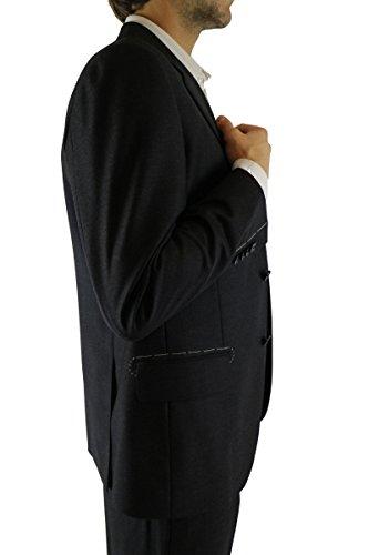 BARBARO COLLECTION 46 IT abito uomo grigio scuro lana