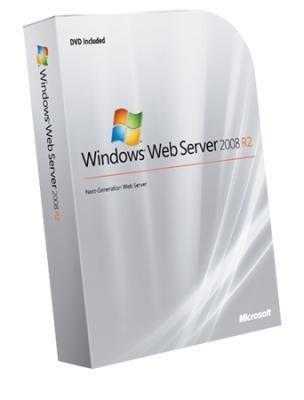 Windows Web Server 2008 R2 64Bit English DVD