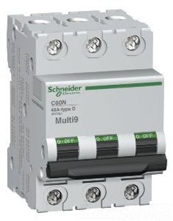 SCHNEIDER ELECTRIC Supplementary Protector 480Y/277-Volt 60-Amp 3-Point MG17464 Miniature Circuit Breaker 480Y/277V 110A by Schneider Electric