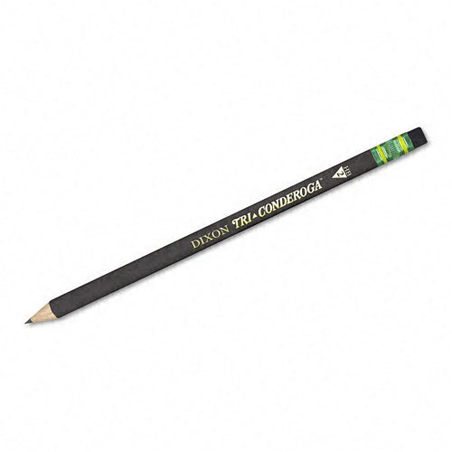 Woodcase Pencil, HB #2, Black, Dozen