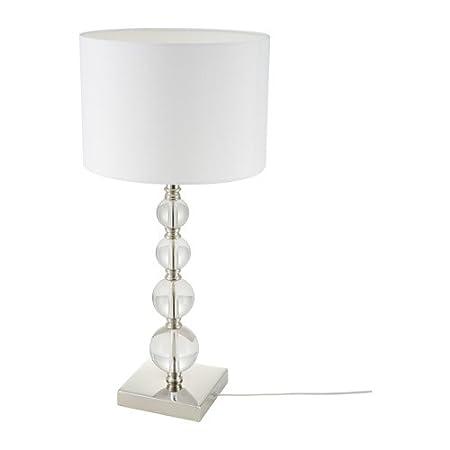 IKEA roxmo lámpara de mesa cristal 702.518.20: Amazon.es: Hogar