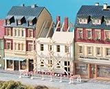 Auhagen - 12270 - Modélisme Ferroviaire - Bâtiment - Maison Municipale En Cours De Rénovation