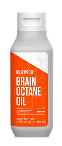 Bulletproof Brain Octane Oil, Reliable and Quick Source of Energy, Ketogenic Diet, More Than Just MCT Oil, 16 Fl. Oz