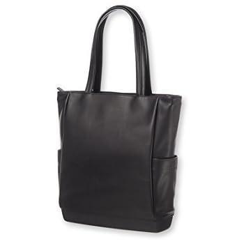 Amazon.com: Moleskine Classic Leather Tote Bag, Black: Computers ...
