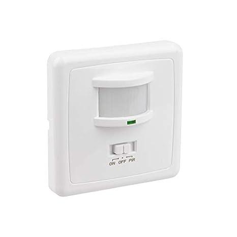 Detector de Movimiento PIR 160º Empotrable efectoLED