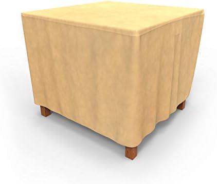 EmpirePatio Classic Nutmeg Square Patio Table Cover, Small