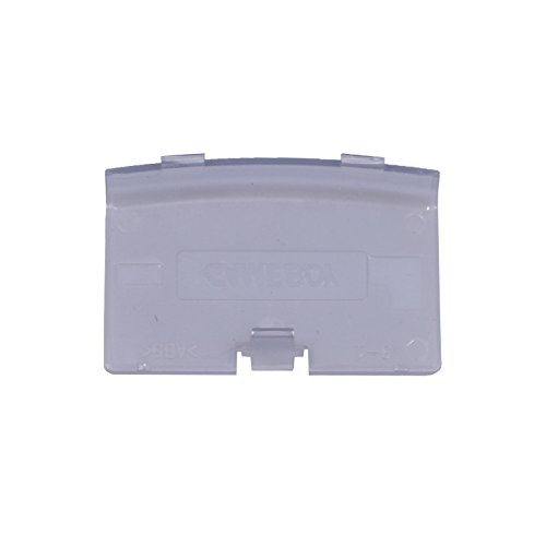 Boy Game Color Cover Battery (Gtide Battery Cover Replacement for Gameboy Color (GPP51 transparent purple))