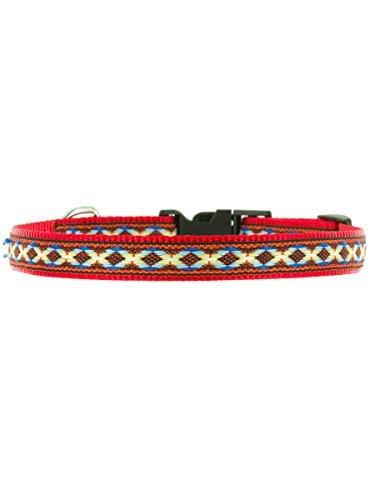 "Kakadu Pet Cheyenne Dog or Cat Collar, Small, 1/2"" x 16"", Red"