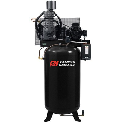 - Campbell Hausfeld Fully Packaged Air Compressor - 7.5 HP, 24.3 CFM @ 175 PSI, 230 Volt 3 Phase, Model# CE7001FP