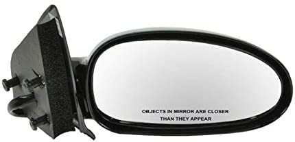 Smooth Black Power Side View Mirror Passenger Right RH for 98-02 Corolla