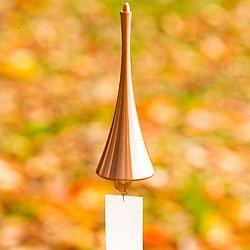 真鍮の風鈴 ホルン (ピンクゴールド) B0058ETYIC ピンクゴールド ピンクゴールド