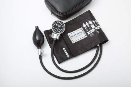 Aneroid Sphygmomanometer McKesson Pocket Style Hand Held 2-Tube Small, Adult Arm (#01-700-10SARBGM, Sold Per Box)
