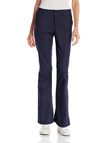 Dickies Women's Stretch Twill Cleaning Pant flat front wide leg