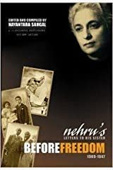 Nehru's Letters To His Sister Before Freedom Paperback