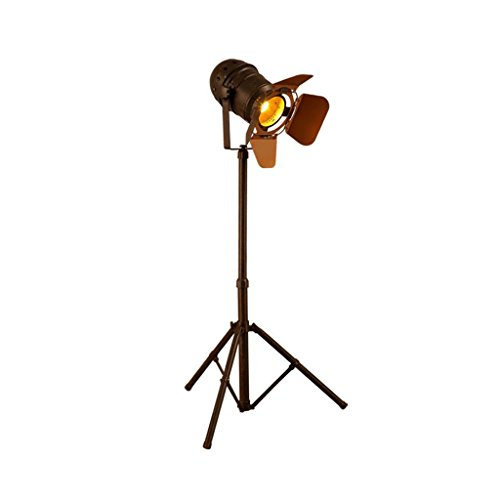 FORWIN Floor Lamp- LED Vintage Decorative Marine Floor Lamp Nautical Royal Wooden Tripod Floor Lamp Indoor ()