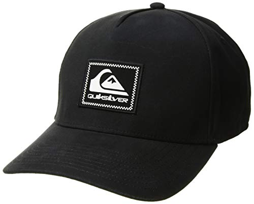 (Quiksilver Men's Tommy Momma Trucker HAT, Black 1SZ)