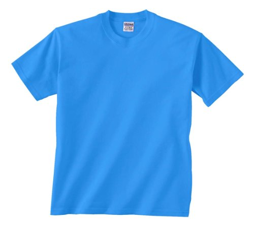 Gildan G200B Youth 6.1 oz Ultra Cotton T-Shirt - Carolina Blue - L