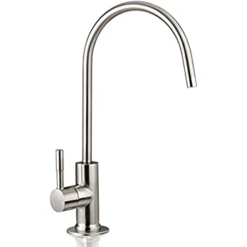 faucet for filtered water. ispring ga1-bn 6.5\ faucet for filtered water