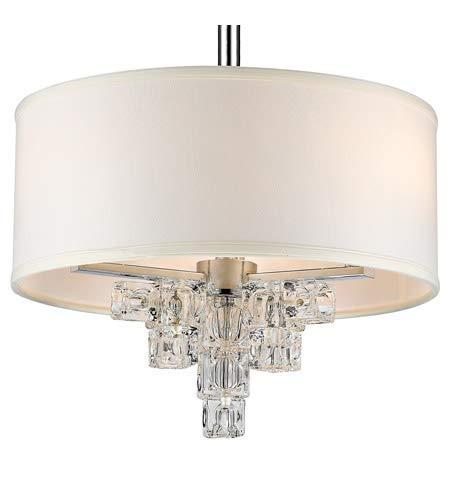Amazon.com: Mini lámparas de araña 3 lámparas con acabado ...