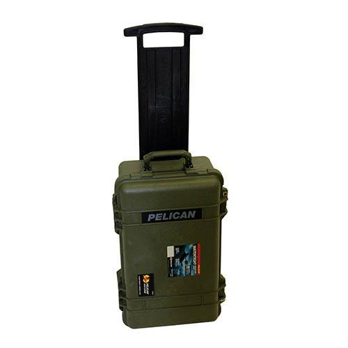 (Pelican 1510 Wl/N Hard Case, OD Green)