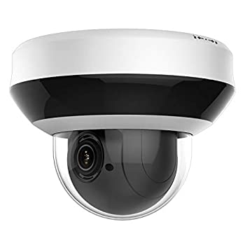 Image of Dome Cameras Anpviz Security 4.0MP POE IP PTZ Dome Camera, Hikvision Compatible 4X Optical, 16X Digital Zoom, H.265+ Outdoor Mini Security Camera with Audio, Alarm, SD Card Slot #PTZIP204WX4IR