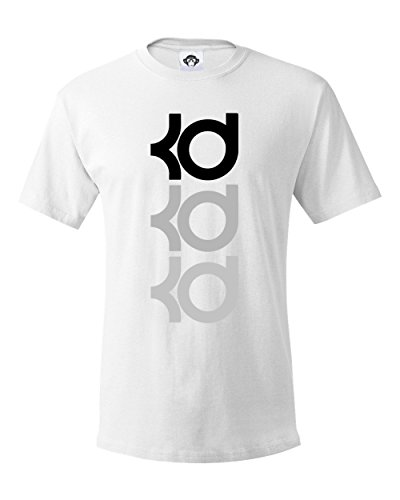 Durant KD Golden State Tee, Men's Graphic T Shirt Clever Tee Shirts