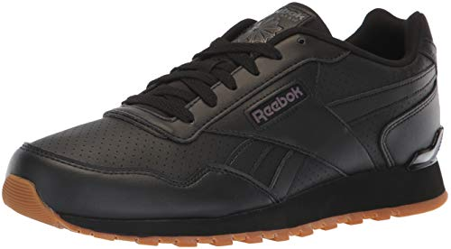 Reebok Men's Classic Harman Run Walking Shoe, Black/ash Grey/Gum, 9.5 M ()