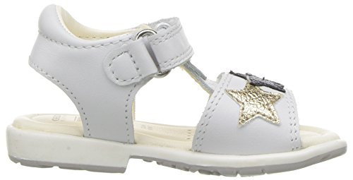 Pictures of Geox Girls' VERRED 16 Sandal White/Multicolor B8221B085BNC0653 3