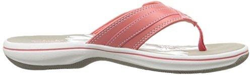 Clarks - Frauen Breeze Sea Flip Flop Lachsfarben