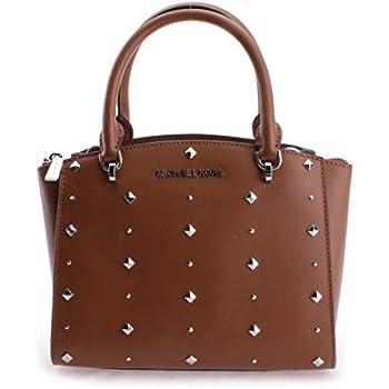 641d1eb8bd Amazon.com: Michael Kors Women's Ellis Small Convertible Leather ...